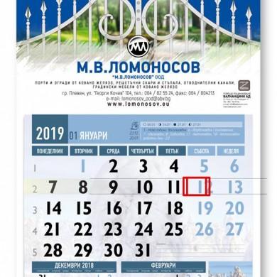 Клиент: Завод М. В. Ломуносов Плевен